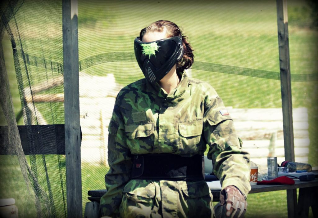 Paintball Head shot