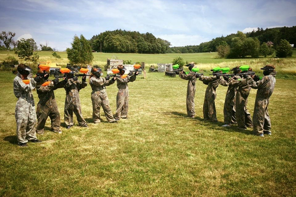 Paintball City Game