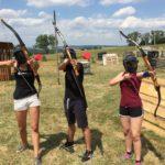 Archery Game školní výlet